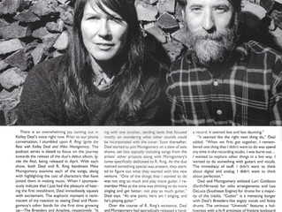 R. Ring's full page feature in the latest GhettoBlaster Magazine.