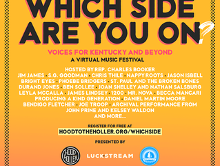 Daniel Martin Moore will be joining Hood to the Holler's 'Which Side Are You On' Virtual Mus
