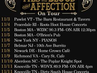 Jeremy Pinnell's November Tour.