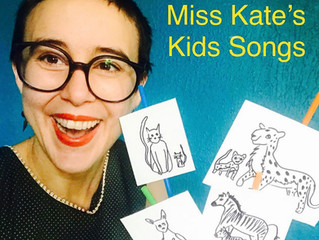 Kate Wakefield (LUNG) releases a kids album!