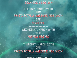 SofaBurn and Rockridge Bowl will be hosting mini concerts all week! Tune in via Facebook!