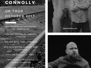 Jeremy Pinnell announces UK TOUR w/ Ags Connolly.