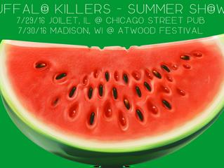 Buffalo Killers announce 2 summer shows.