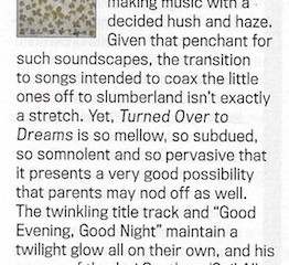 Daniel Martin Moore Relix review for 'Turned Over To Dreams'.