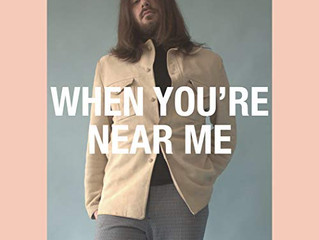"""M Ross Perkins """"When You're Near Me"""" from his upcoming EP release is streaming NOW!"""