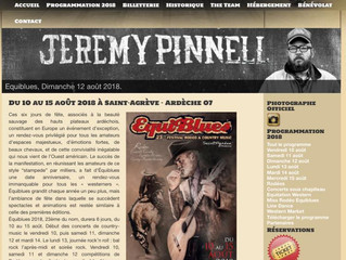Jeremy Pinnell is hopping the pond this weekend for Festival Equiblues 2018 in Saint-Agréve, France!