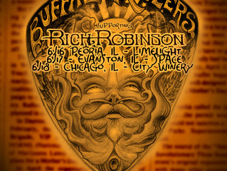Buffalo Killers on tour with Rich Robinson.