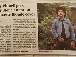 Jeremy Pinnell talks about his latest release with The Enquirer.