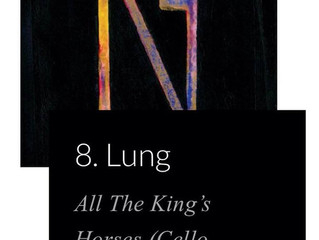 Lung's 'All the King's Horses' hits #8 on The Haystack's TOP 50 Rock Albums of 2