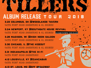 The Tillers announce TOUR in support of their upcoming 'S/T' LP/CD/DL release!  Their first
