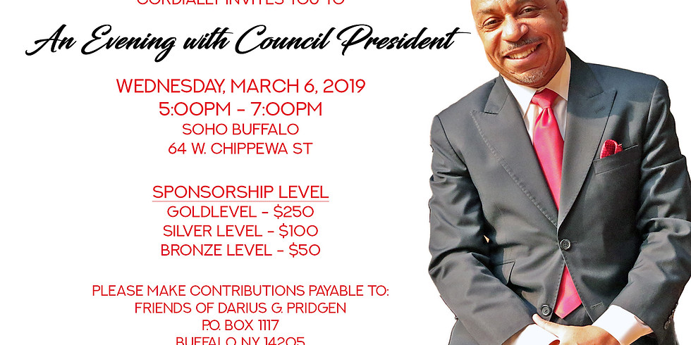 An Evening with Council President