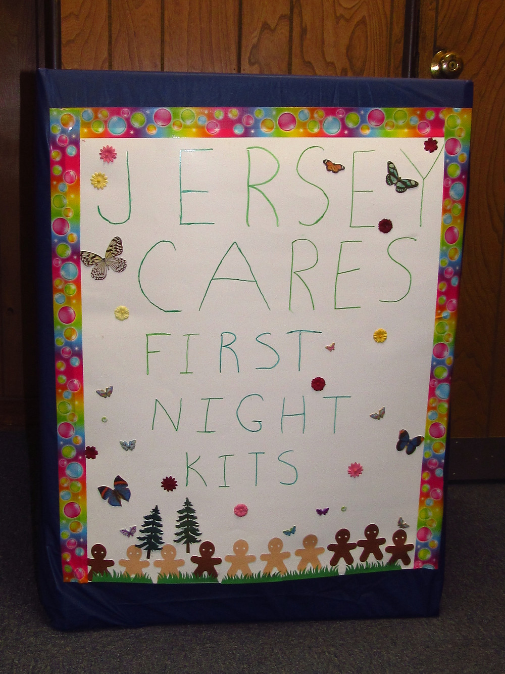 Jersey Cares Donation Box