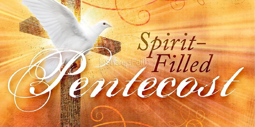 Pentecost Live Stream Worship Service - Facebook Live