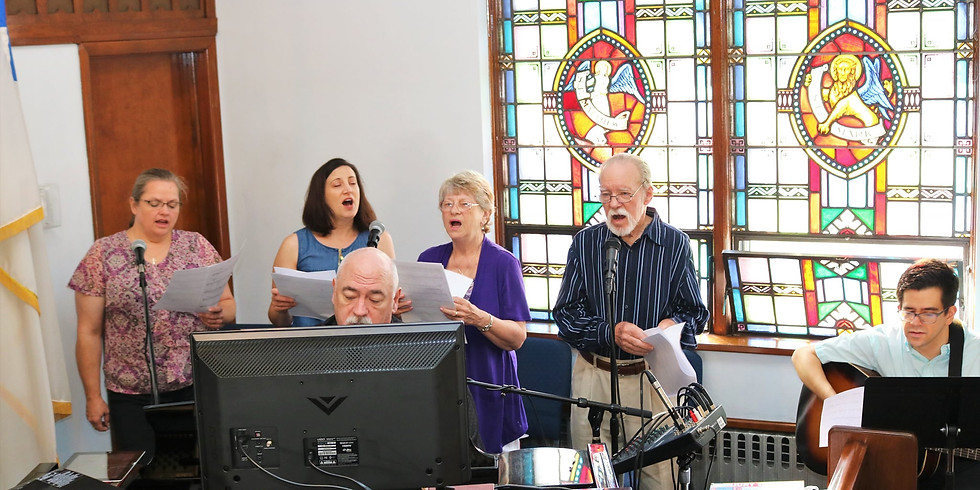 Rehearsal for Worship Team
