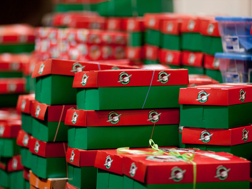 Operation Christmas Child Inventory Update 11/3/2019