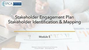 Module 5 IPCA Global Professional Diplom