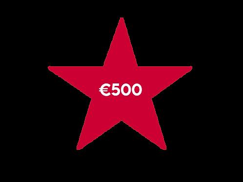 €500 Donation