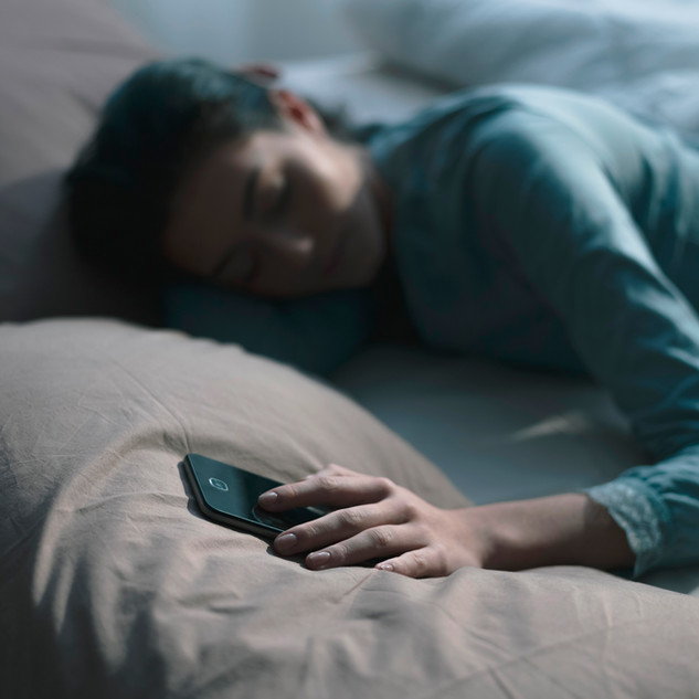 Put away smart devices before bedtime