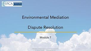 Module 7 IPCA Global Professional Diplom