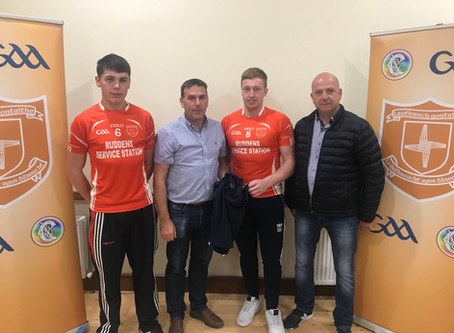Callaghan Electrical Sponsorship With Laragh Utd