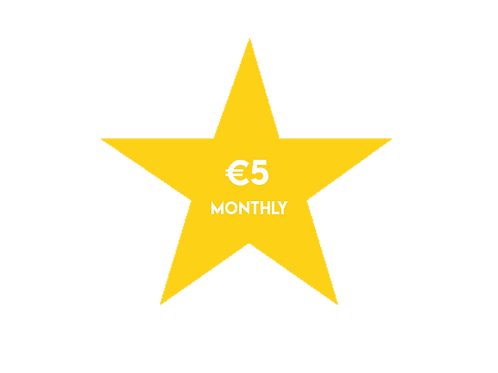 €5 Monthly Donation