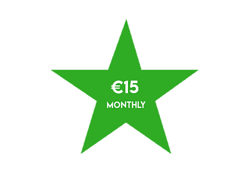 €15 Monthly Donation