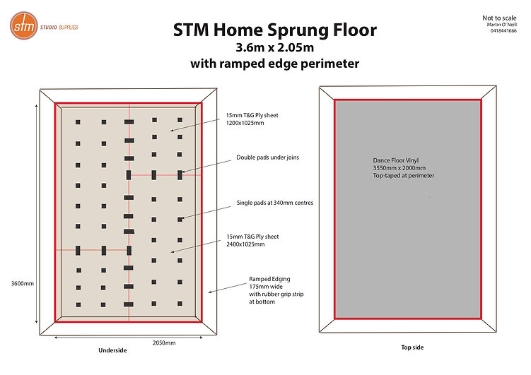 STM Home Sprung Floor Kit w ramp 170420.
