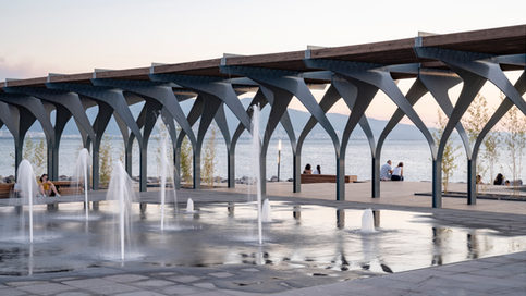 PAVILION BY THE SEA
