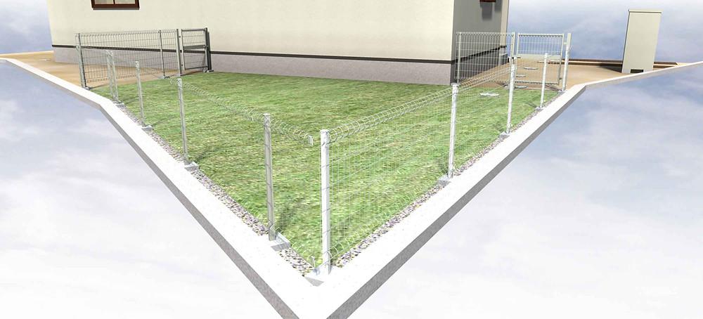 保育室庭 外構デザインイメージ