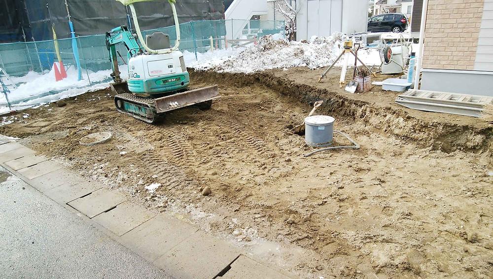 掘削工事2