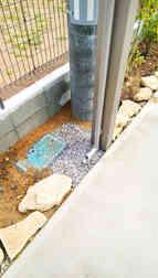 カーポート排水