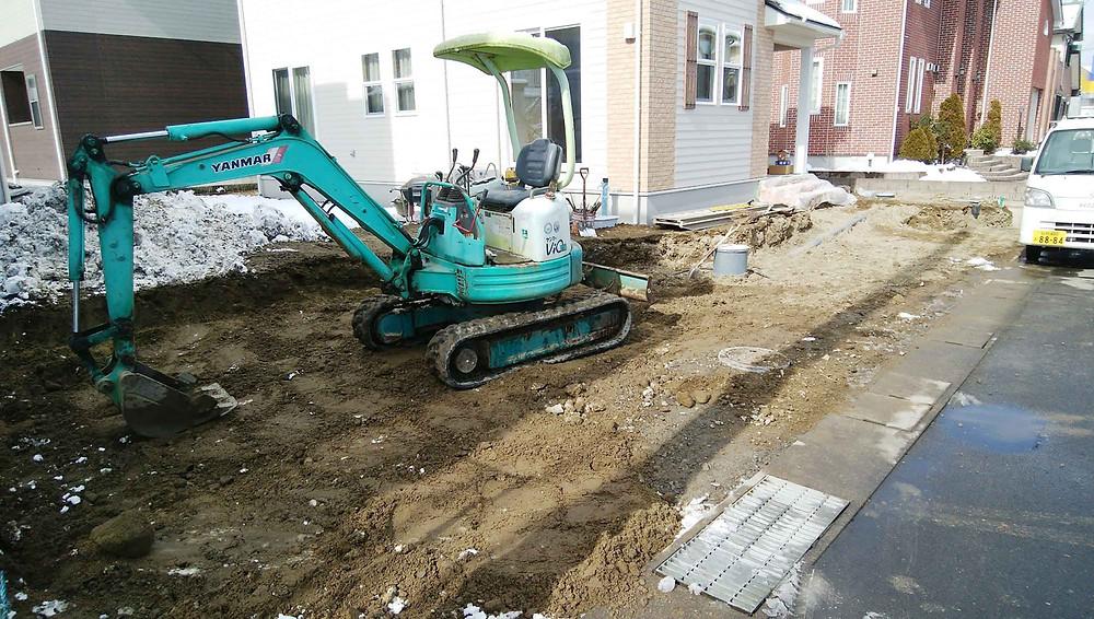 掘削工事1