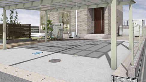 CG:駐車スペース