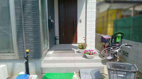 before(玄関)