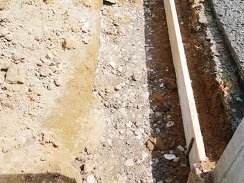 仙台市H様邸の追加外構工事を開始