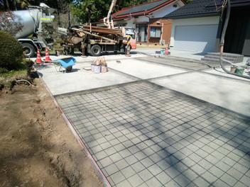 山元町外構工事|広い土間コンスペースで楽しみ方は工夫次第・3