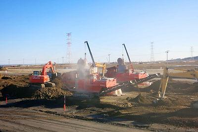 現位置土壌改良工事