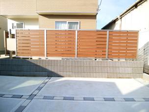 Case54:お庭の目隠しフェンスでプライバシー対策