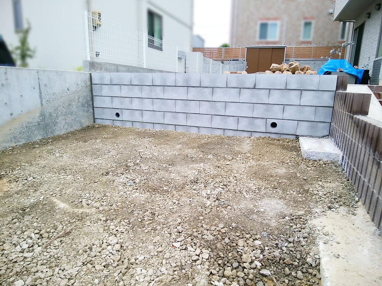 ブロック塀1