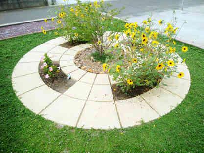 サークル花壇
