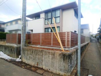 名取市・K様邸新築外構工事2