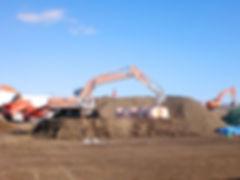 掘削除去工事
