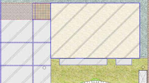 CG:お庭平面図