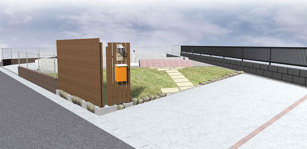 玄関・アプローチ・駐車場デザイン