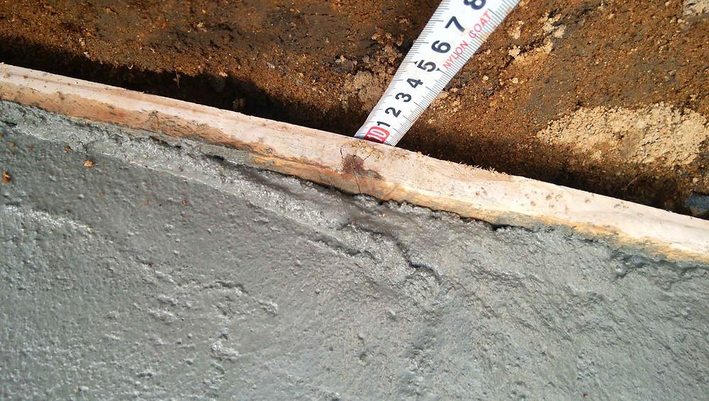 土留めコンクリートブロック基礎4