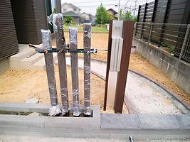 機能性門柱とポスト