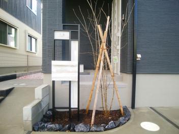 岩沼市のシンプルモダンなおしゃれな外構工事・5