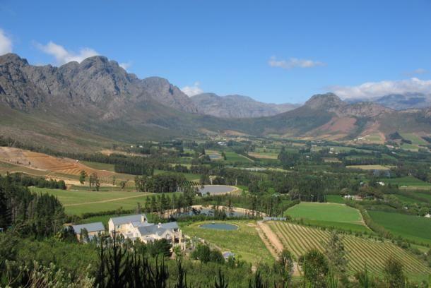 Franschhoek Sudafrica