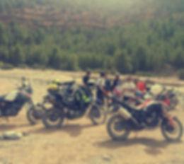 Grupo en moto