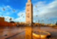 Marrakech Mezquita Koutoubia